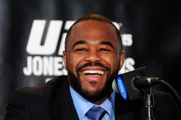 UFC 145 Results: 5 Fights to Get Rashad Evans Back on Track