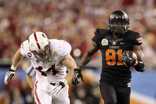 2012 NFL Draft: Justin Blackmon and Players Falling Down Draft Boards