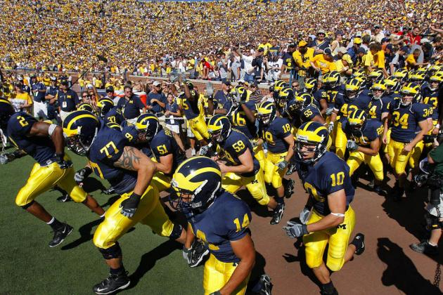 Michigan Wolverines Football: 5 Reasons the Maize and Blue Will Take the Big Ten