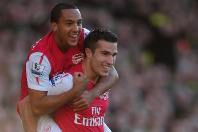 Arsenal: Top 5 Goals of the 2011-12 English Premier League Season