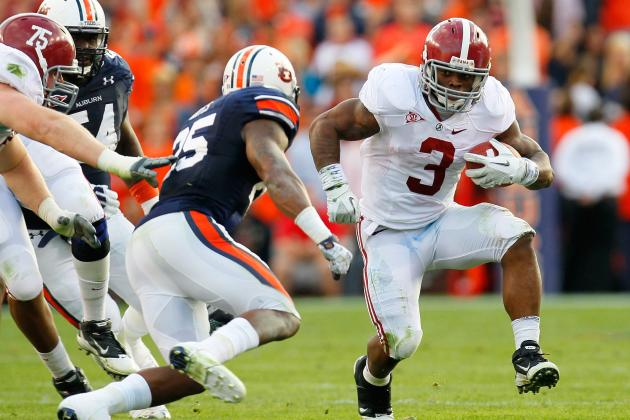 2012 NFL Draft: Trent Richardson Is Already Better Than These 5 NFL RBs
