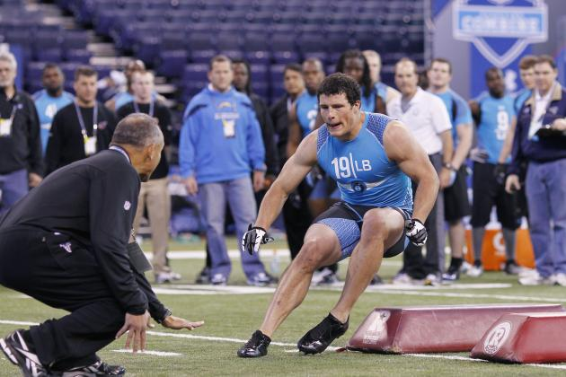 2012 NFL Draft: Tracking Landing Spots for Top 25 LBs