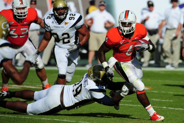 Tracking Miami Football Players in the 2012 NFL Draft