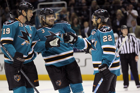 San Jose Sharks: Top 10 Plays of the 2011-2012 Season (Video)