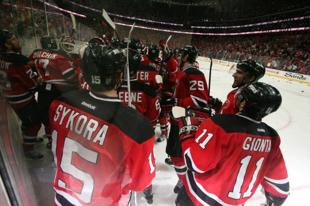 NHL Playoffs 2012: 8 New Jersey Devils Who Need to Step Up for Round 2