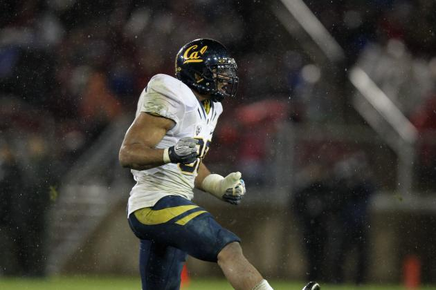 Tracking Cal Football Players in the 2012 NFL Draft