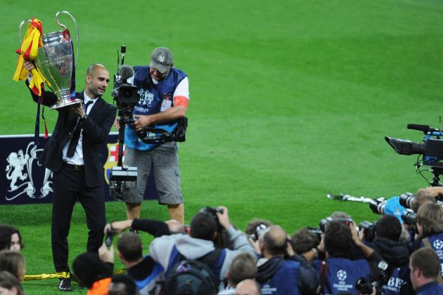 Pep Guardiola: Recapping the Barcelona Manager's Career in 10 Photos