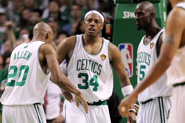 Boston Celtics: Grades and Awards for 2012