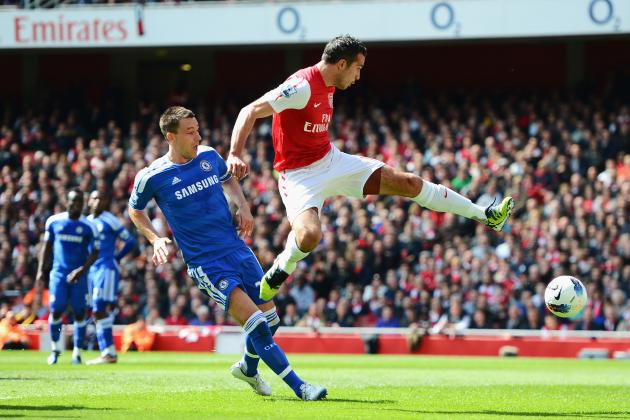 Looking at the 2011-2012 EPL Top Goalscorers from Each Club