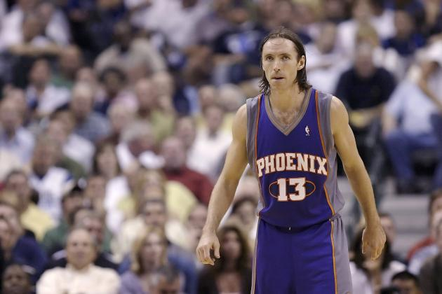 Steve Nash's 5 Finest Moments with the Phoenix Suns (Video)
