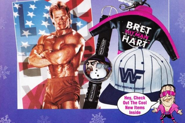 WWE Blast from the Past: Looking Back at Old-School WWE Merchandise Part II