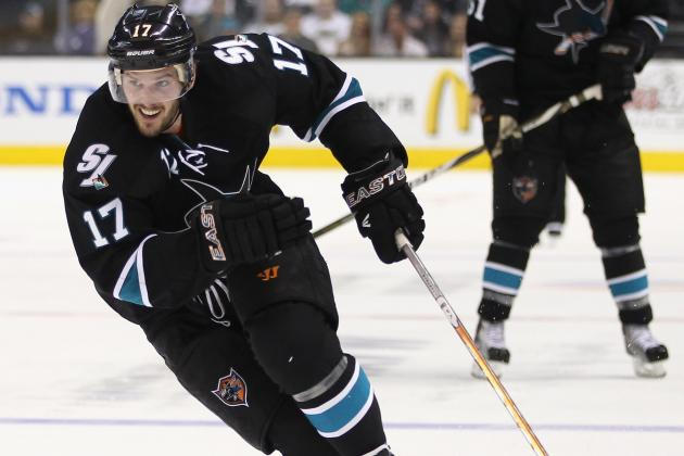 San Jose Sharks: 5 Players Who Should Not Be Offerred New Contracts