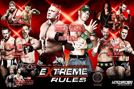 WWE Extreme Rules 2012: Predicting the Winners of Each Match
