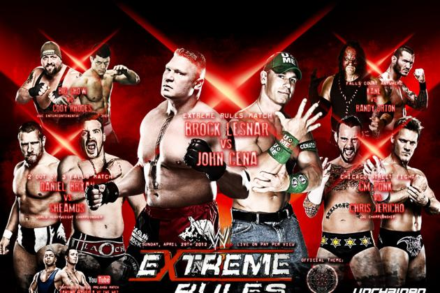 WWE Extreme Rules: WWE '12 Simulation and Predictions