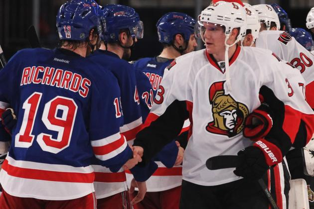 NHL Playoffs 2012: 5 Best Players During the Rangers-Senators Series