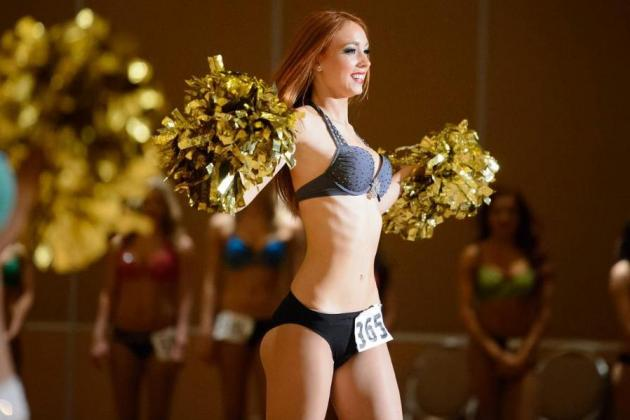 NFL Cheerleader Tryouts: 100 Hottest Photos