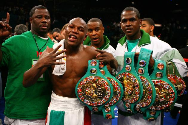 Floyd Mayweather and the 10 Biggest PPV Boxing Events of All Time
