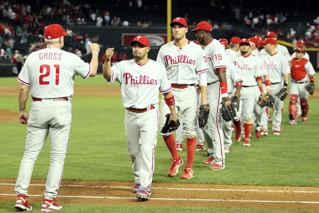 Philadelphia Phillies: Grading All 25 Roster Players After MLB's First Month