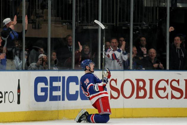 NHL Playoffs 2012: 5 Reasons Chris Kreider Is Emerging Star for the NY Rangers