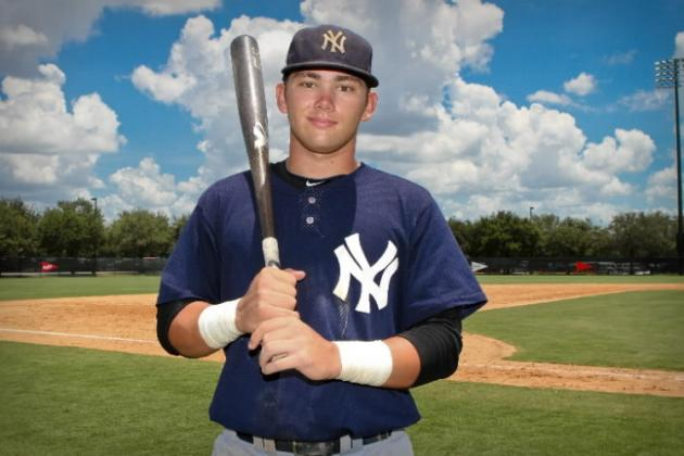 New York Yankees: Tracking Progress of Top 5 Active Draft Picks from Last Year