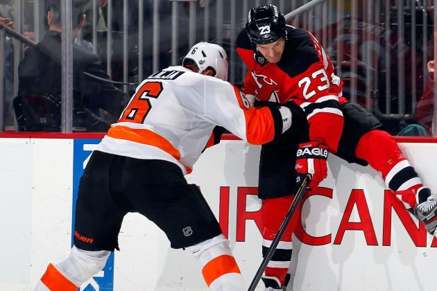 NHL Playoffs 2012: 5 Key Players for Devils vs. Flyers Game 1