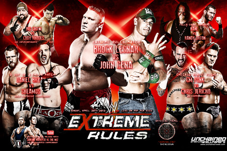 WWE Extreme Rules 2012: Preview and Predictions from Bleacher Report's Evolution