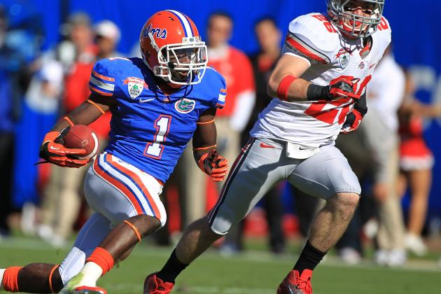 Draft and Undrafted Free Agent Results for Florida