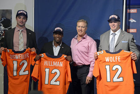 Denver Broncos 2012 NFL Draft: Predicting the Jersey Number for Each Draft Pick