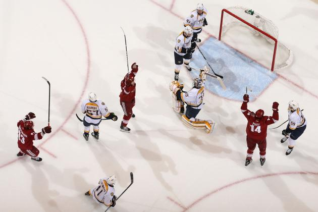 NHL Playoffs: 5 Changes the Phoenix Coyotes Need to Make Heading into Game 3