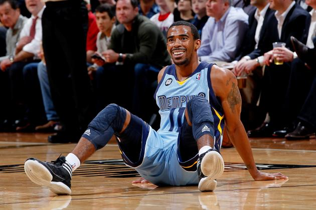 NBA Playoffs 2012: Ranking Mike Conley Among Top 5 Grizzlies Playoff-Openers