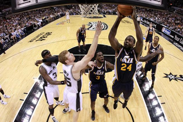 2012 NBA Playoffs: Full Grades for Utah After Their Game 1 Loss to San Antonio