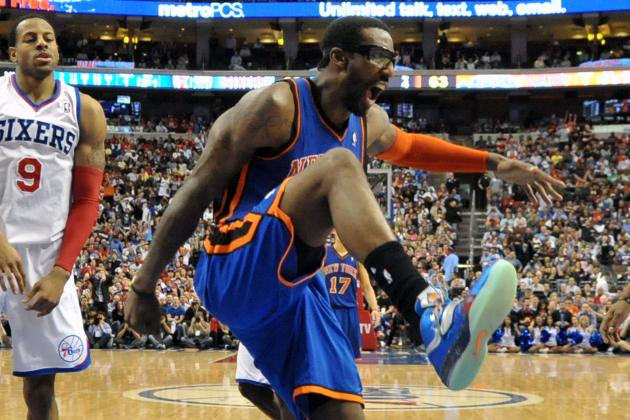 NBA Playoffs: Amar'e Stoudamire and Other Weird Sports Injuries