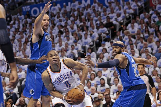 NBA Playoffs 2012: Analysis and Full Grades from Thunder-Mavericks Game 2