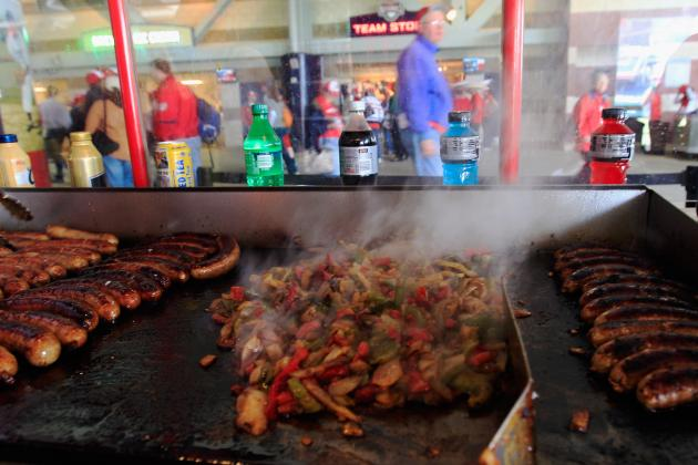 Most Insanely Delicious Food Item at Each MLB Ballpark