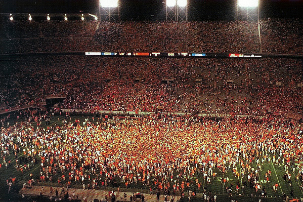 Tennessee Volunteers Football: Top Upsets in Volunteer History