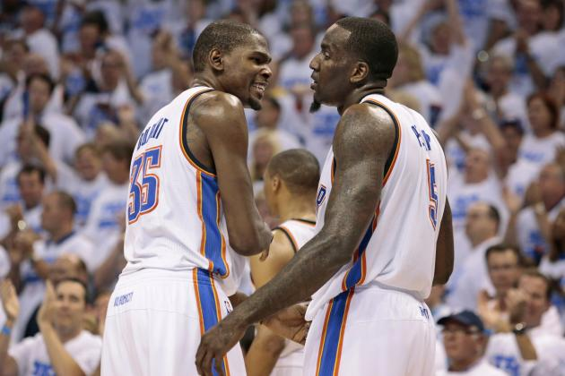 NBA Playoffs 2012: 10 Reasons Oklahoma City Thunder Will Roll over the Field