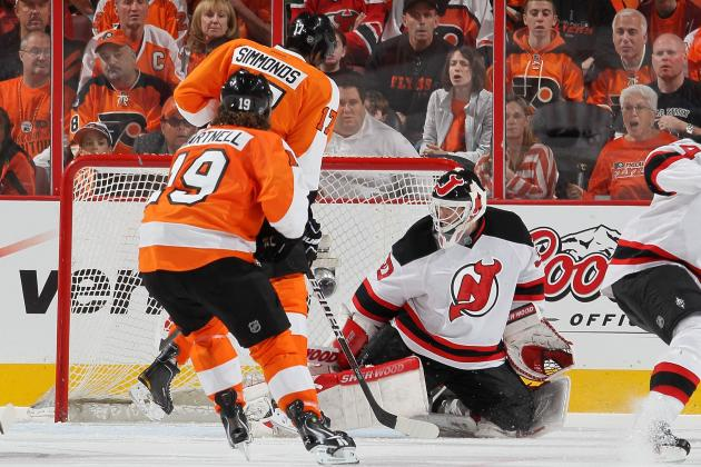 NHL Playoffs 2012: 3 Stars from Philadelphia Flyers vs. New Jersey Devils Game 2