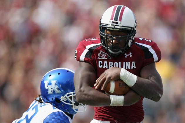 South Carolina Football: 1 Word for Every Projected Offensive Starter