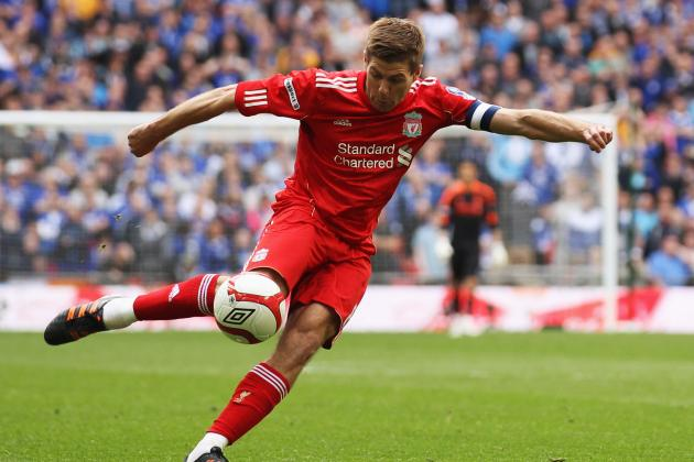 Steven Gerrard's 20 Best Goals for Liverpool