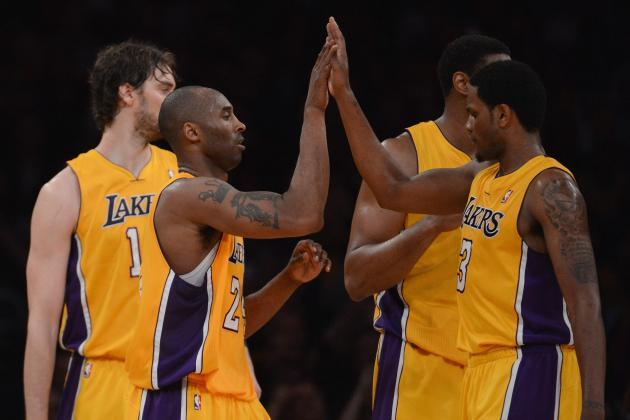 NBA Playoffs: Ranking the Los Angeles Lakers' Most Effective Players Thus Far