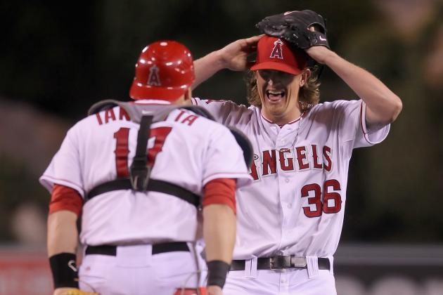 Jered Weaver No-Hitter: Where Does He Rank Among AL's Top Starters?