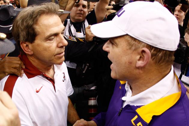 College Football: Power Ranking Every BCS Championship Game Head Coach Ever