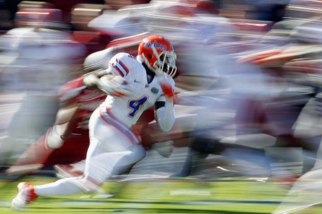 Florida Gators Football: One Word for Every Projected Offensive Starter