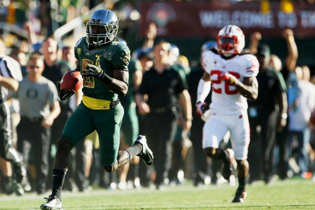 The 25 Most Explosive College Football Athletes in 2012
