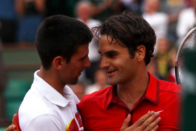 Roger Federer, Rafael Nadal, Novak Djokovic, Top 10 ATP: Mutua Madrid Open 2012