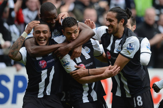 Newcastle United: Picking a Potential Starting Lineup for Next Season