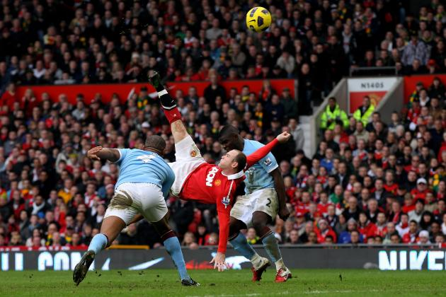 EPL: Is Wayne Rooney's Strike Against Man City Greatest in the Era?