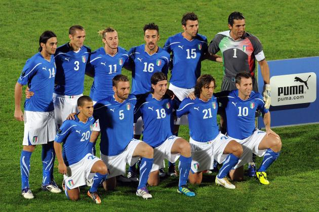 Italy Euro 2012: Picking a Starting XI to Beat Spain