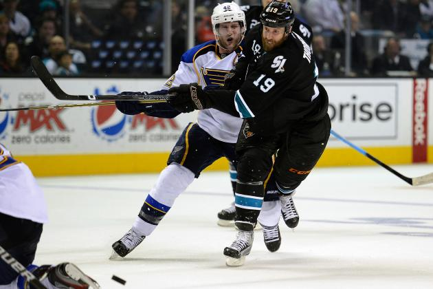 2011-12 San Jose Sharks Player Grades: Joe Thornton