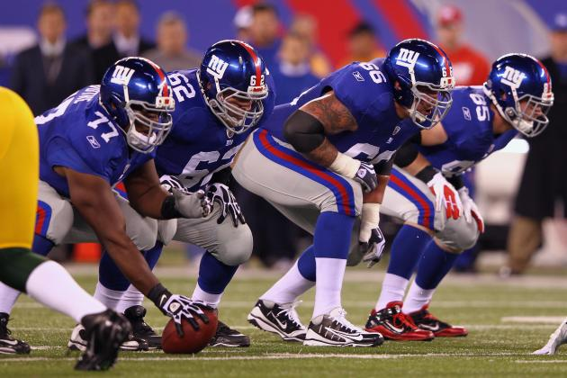 New York Giants' O-Line Analysis: Who Should Start in 2012?